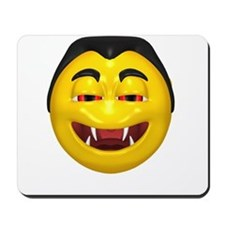 Laughing Vampire Face Mousepad