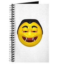 Laughing Vampire Face Journal