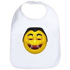 Laughing Vampire Face Bib
