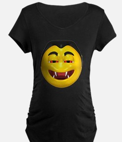 Laughing Vampire Face T-Shirt