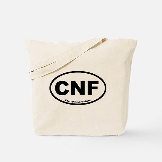 Charity Never Faileth Tote Bag