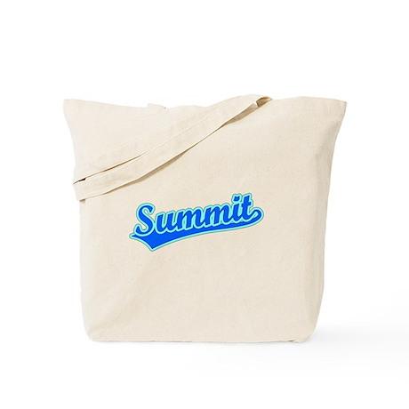 Retro Summit (Blue) Tote Bag