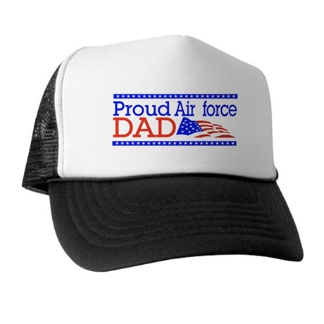 Proud Airforce dad Trucker Hat