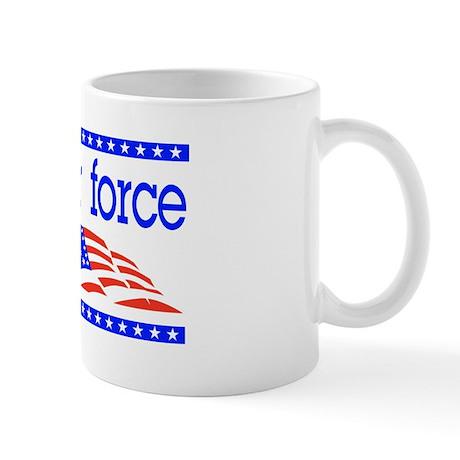 Proud Airforce dad Mug