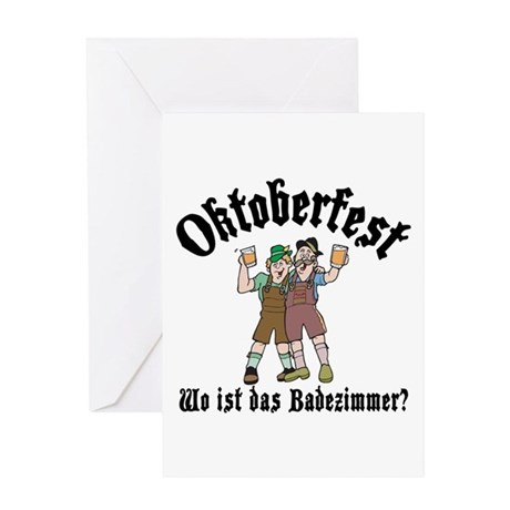 German Oktoberfest Greeting Card