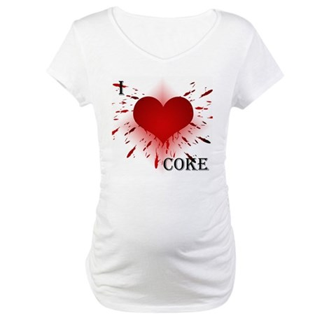 Exploding Heart Maternity T-Shirt