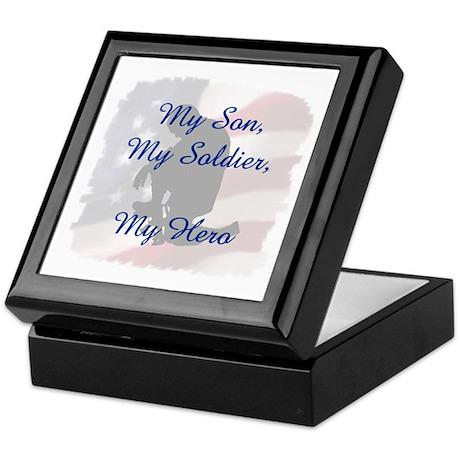 My Son, My Hero Keepsake Box