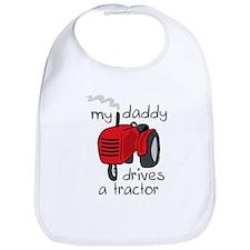 Daddy Drives A Tractor Bib