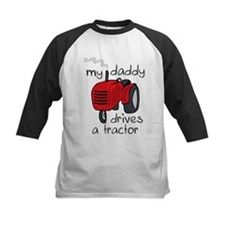 Daddy Drives A Tractor Tee