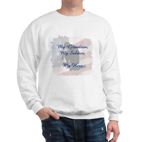 My Grandson, My Hero Sweatshirt