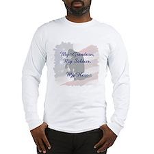My Grandson, My Hero Long Sleeve T-Shirt