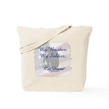 My Brother, My Hero Tote Bag
