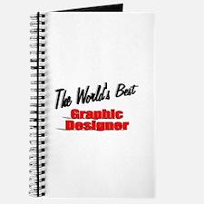 """""""The World's Best Graphic Designer"""" Journal"""