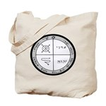 3rd Pentacle of Jupiter Protection Tote Bag