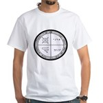 3rd Pentacle of Jupiter Protection White T-Shirt