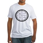 3rd Pentacle of Jupiter Protection Fitted T-Shirt