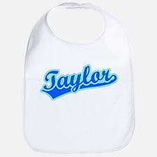 Retro Taylor (Blue) Bib