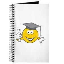 Graduation Graduate Smiley Face Journal