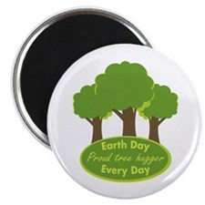"""Proud Tree Hugger 2.25"""" Magnet (100 pack)"""