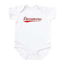 Vintage Livermore (Red) Infant Bodysuit