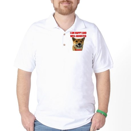 Well Adjusted Shiba Golf Shirt