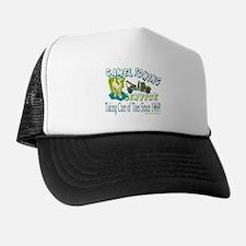 Camel Towing Trucker Hat