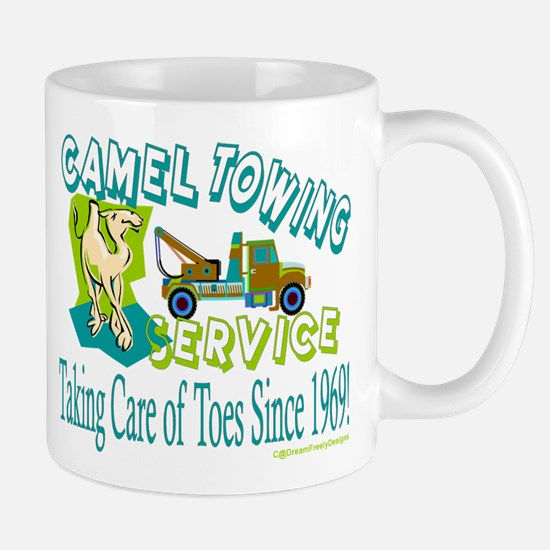 Camel Towing Mug