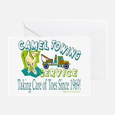 Camel Towing Greeting Card