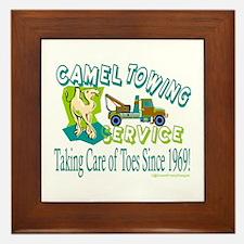 Camel Towing Framed Tile