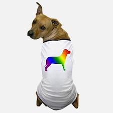 Rainbow Gay Pride Dog Dog T-Shirt