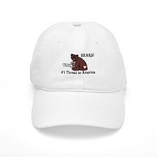 Bears, #1 Threat to America Baseball Cap