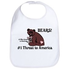 Bears, #1 Threat to America Bib