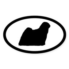 Puli Oval Decal