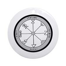 1st Pentacle of Jupiter Prosperity Ornament (Round