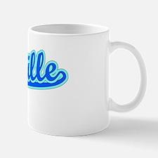 Retro Titusville (Blue) Mug