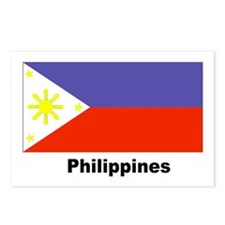 Philippines Filipino Flag Postcards (Package of 8)