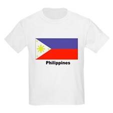 Philippines Filipino Flag Kids T-Shirt