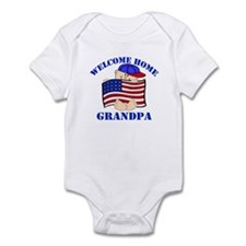 Army Welcome Home Grandpa Infant Bodysuit