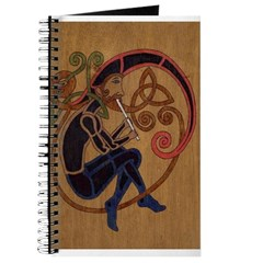 Celtic Whistle Player Journal