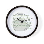 Sen Rikyu Wall Clock
