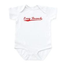 Vintage Long Branch (Red) Infant Bodysuit