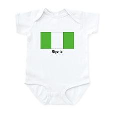 Nigeria Nigerian Flag Infant Creeper