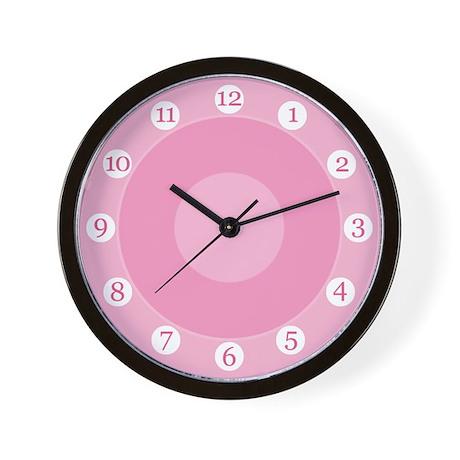 Baby Pink Wall Clock