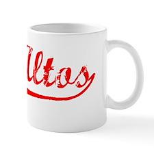 Vintage Los Altos (Red) Mug