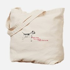 Small in stature. Fast as lightning tote Bag