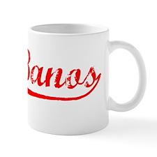 Vintage Los Banos (Red) Mug