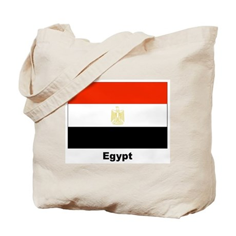 Egypt Egyptian Flag Tote Bag