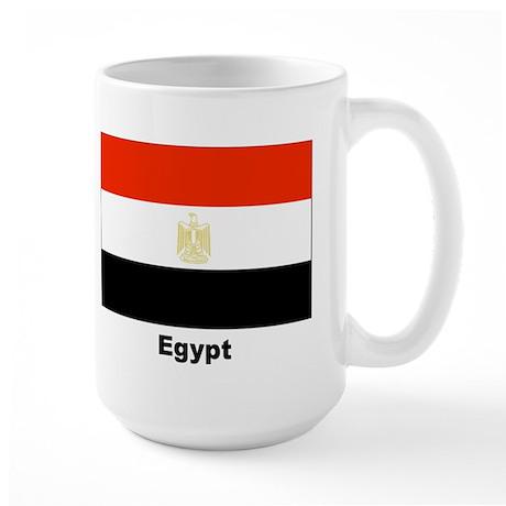 Egypt Egyptian Flag Large Mug