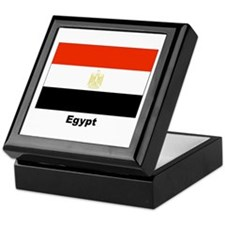 Egypt Egyptian Flag Keepsake Box