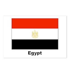 Egypt Egyptian Flag Postcards (Package of 8)